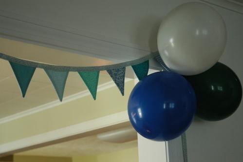 bunting&balloons